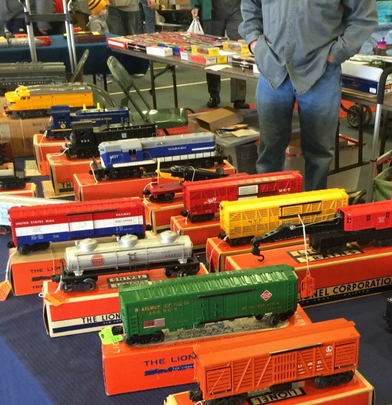 Scale Model Train Show has rare and collectable models.