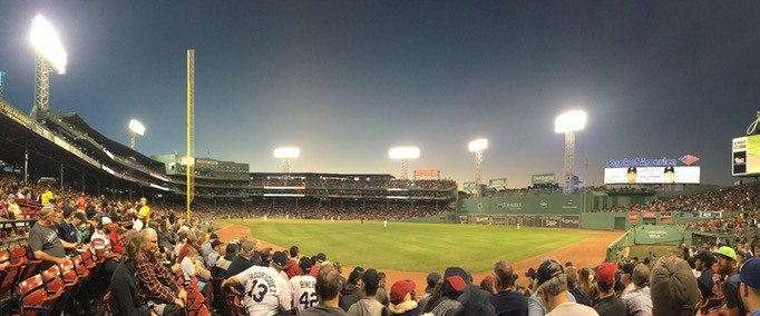 Fenway Park is one of the most amazing ballparks.