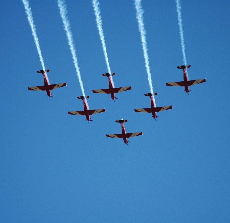 Best part of an Air Show is:  Voila!  The Air Shows!