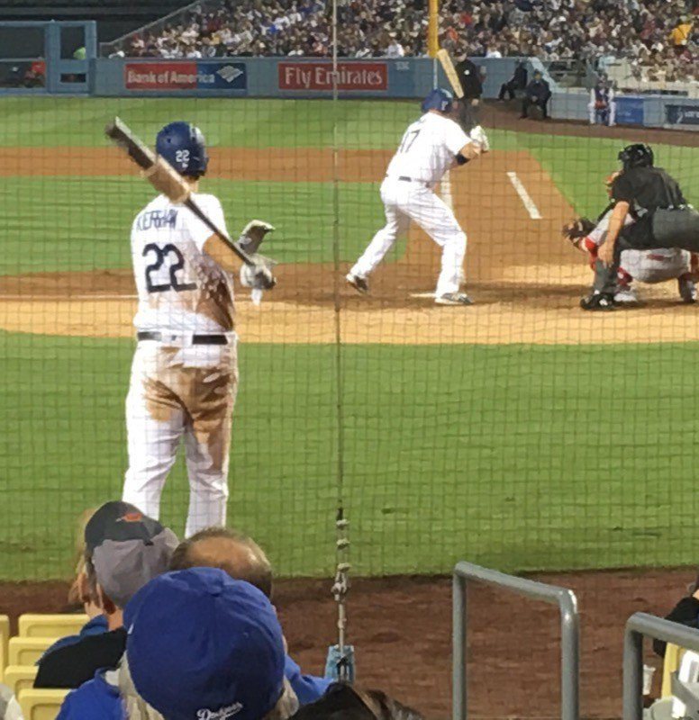 Kershaw's on deck!