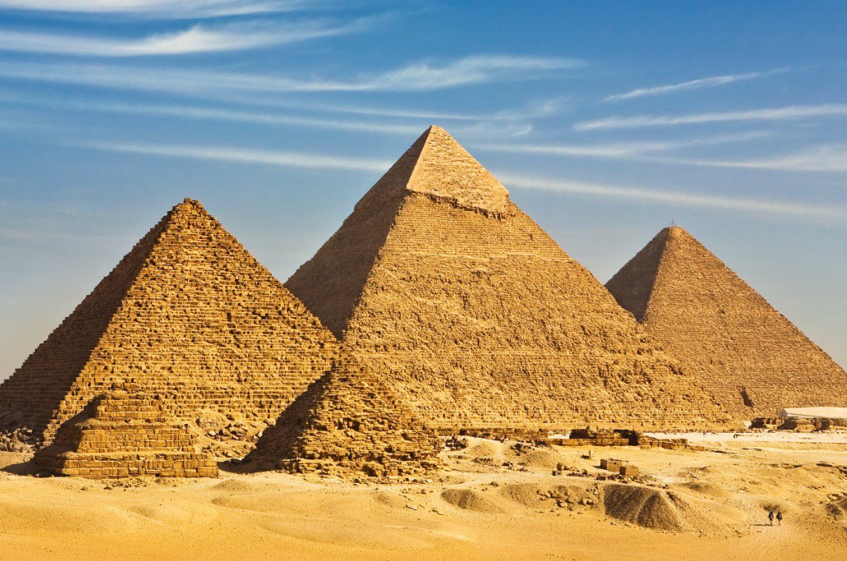 The great Giza Pyramid has sunk 26 feet!