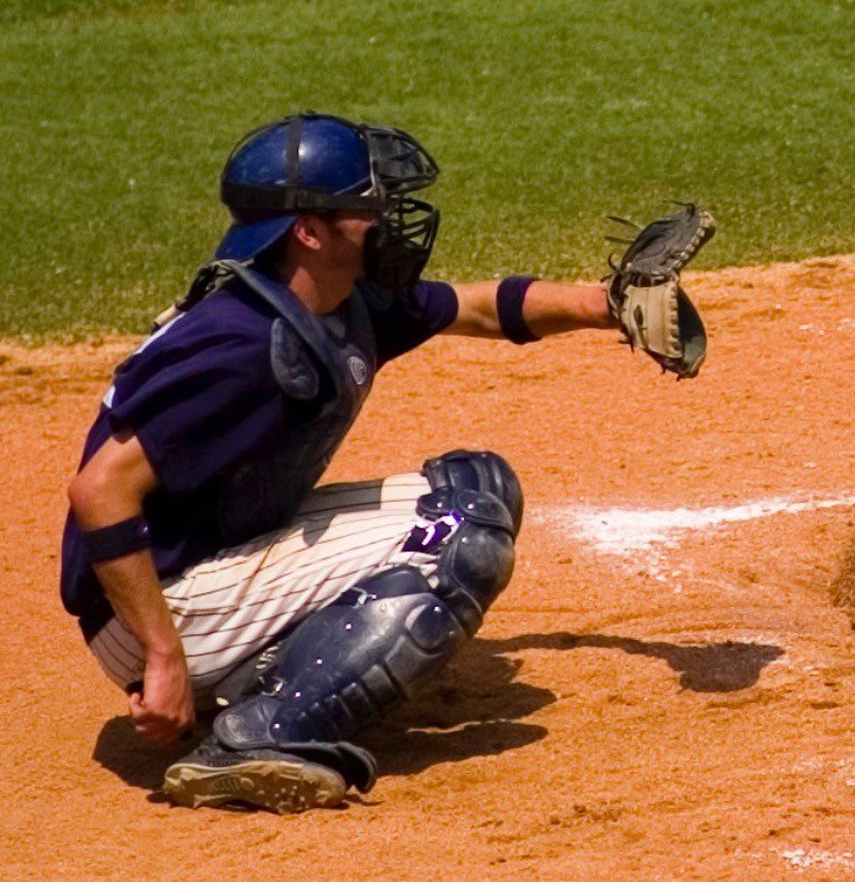 Physics can also tell us the force the catcher will absorb on this pitch!