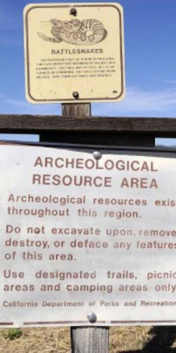 As reported by The Chronicle, the area is marked as an Archeological Area