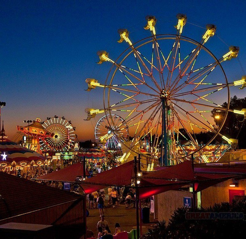 The Ferris Wheel at the Beaumont Cherry Festival