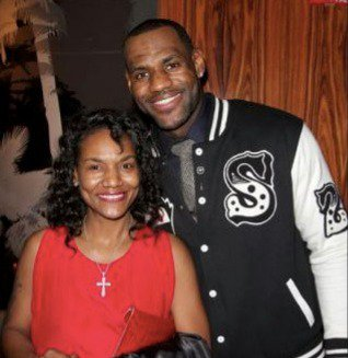 LeBron and his mom