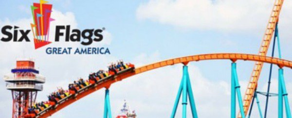 6 Flags Great America Chicago S Theme Park Pashpost Inc