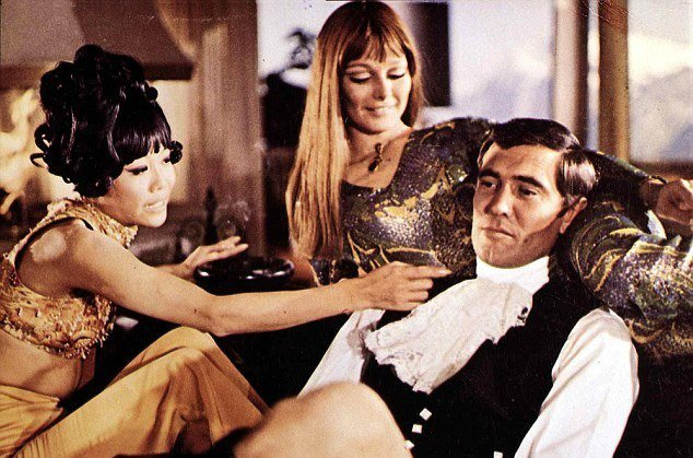 Bond was a womanizer