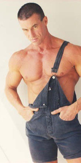 A very specific sort of man will wear overalls like this. A manly man!