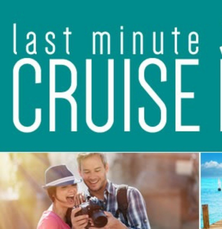 Book a last-minute deal with a cruise line
