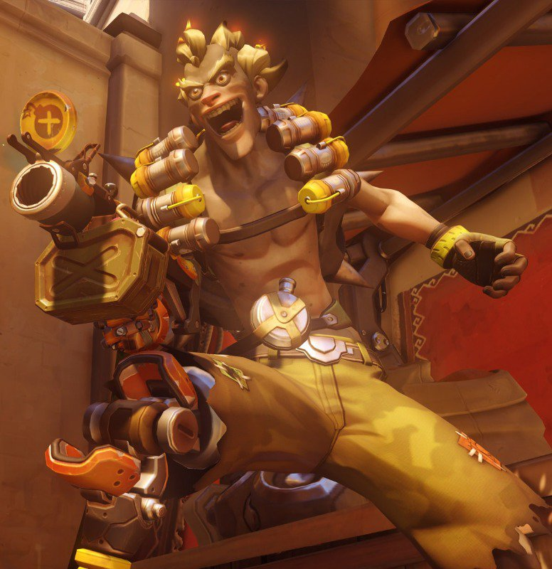 Junkrat's animations are top-notch.