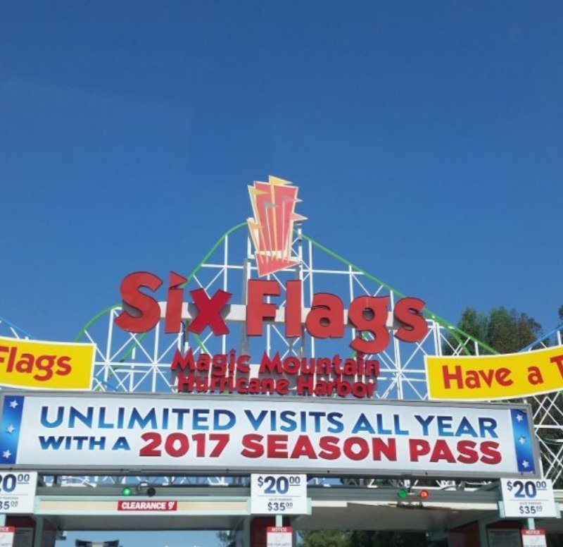Magic Mountain in California is another favorite.