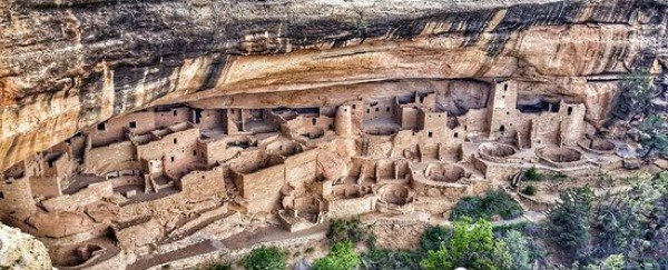 The Cliff Palace at Mesa Verde