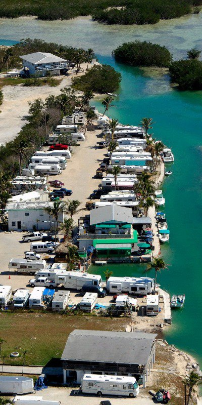 RV camping in the Keys