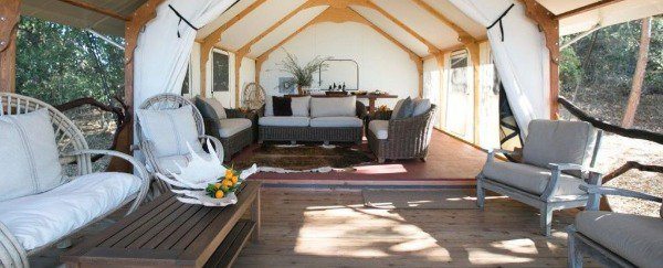 A tent with a front porch? Suonds good!
