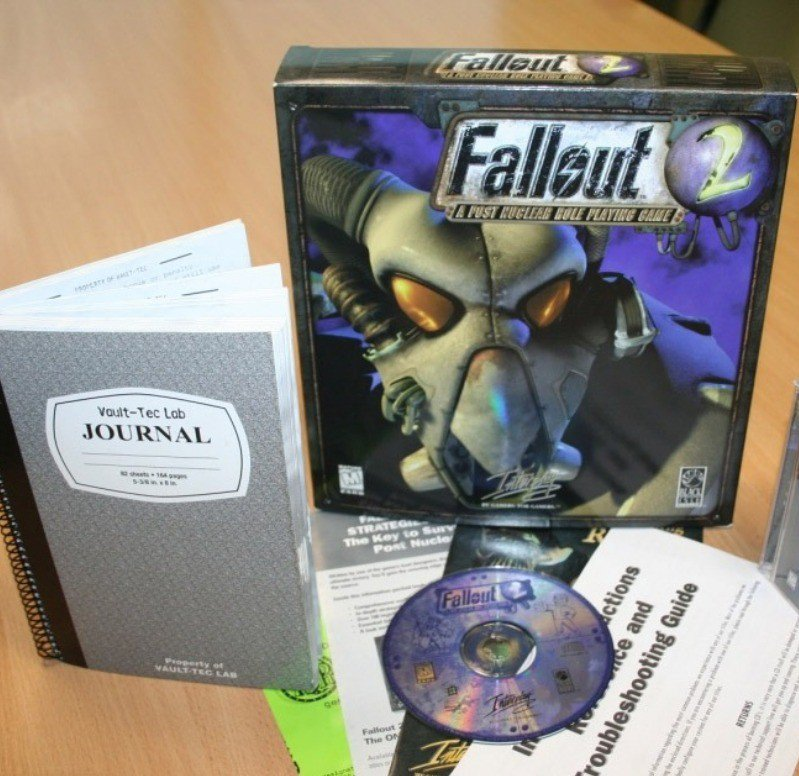 Fallout 2 continued in the Fallout tradition of awesome manuals.