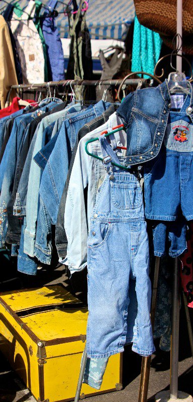 Lots of denim