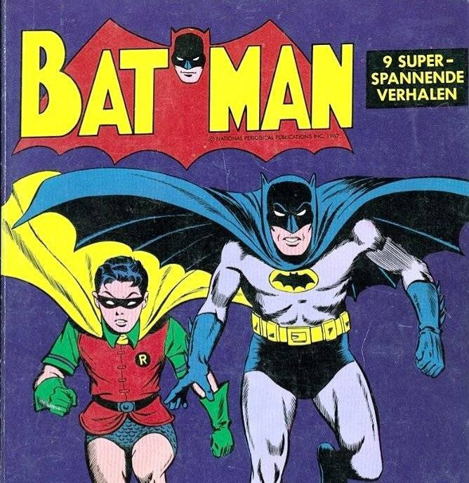 An older Batman comic book I have.