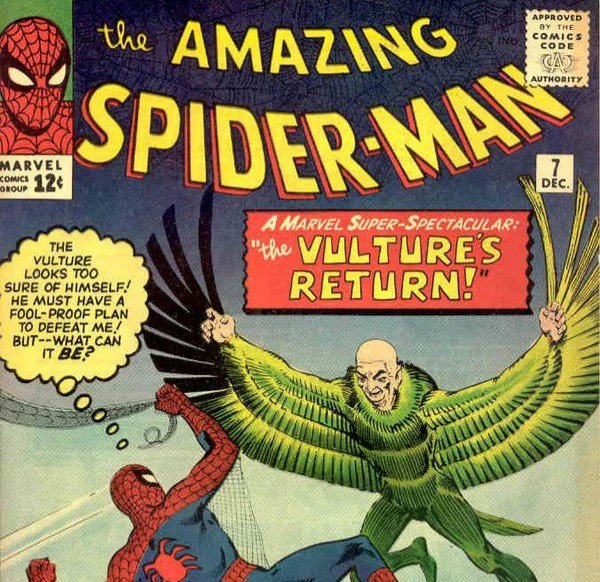 An older Spiderman comic book I have.
