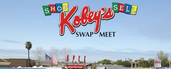 Sign for Kobey's swap meet