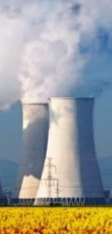 Thanks nuclear power plant.