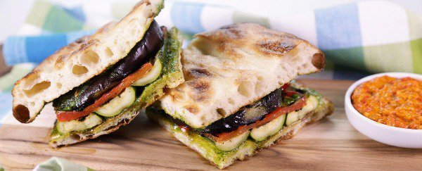 Wuh-what? Stuffed focaccia? Yes!