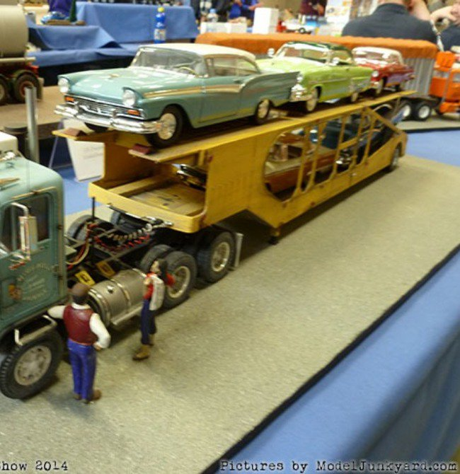 Truck that hauls cars. Checkmate, cars.