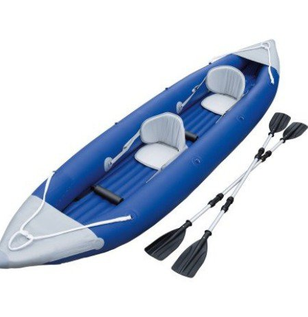 Even without the kayak, the gear for kayaking isn't particularly small.