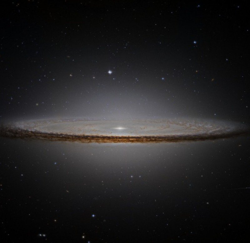 The Sombrero Galaxy.