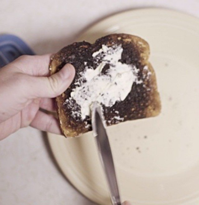 The formation of an irregular galaxy. Oh wait, that's toast. My bad.