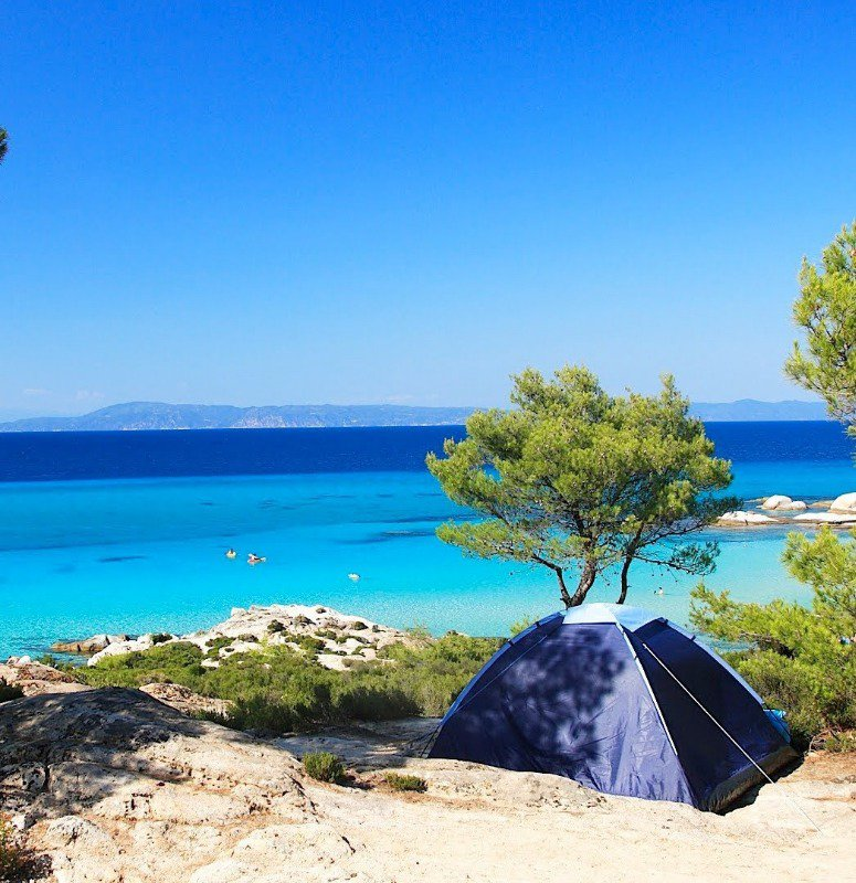 I want to camp on this beach, y'all