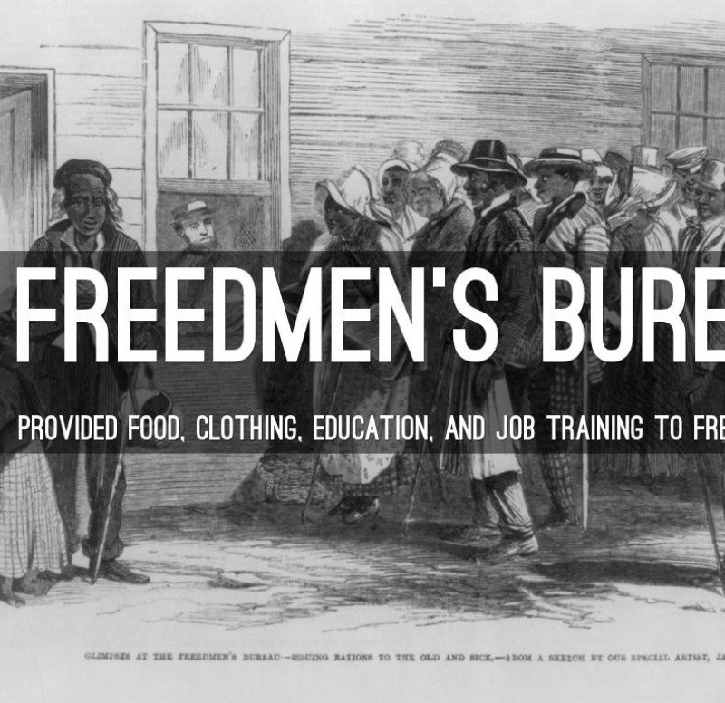 The Bureau for Freed Slaves