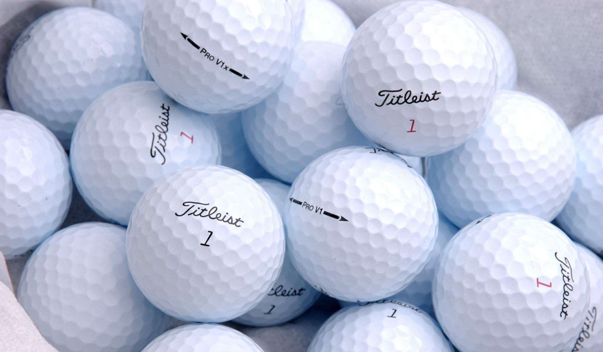 The very best golf balls out there
