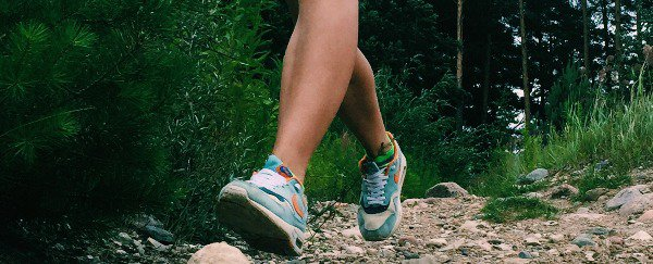 A runner on one of my trails