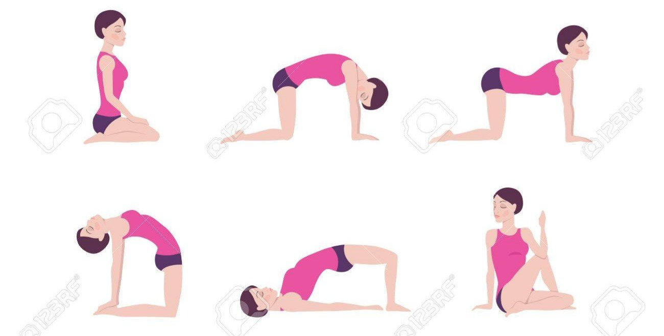 Basic yoga positions