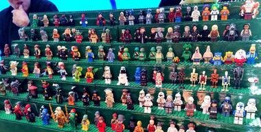 Fun figurines at the market.