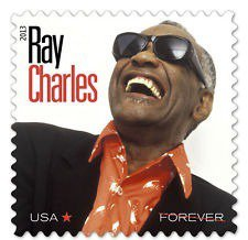 This Ray Charles stamp is awesome.