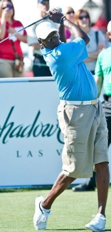Michael Jordan loves to play at Shadow Creek, too.