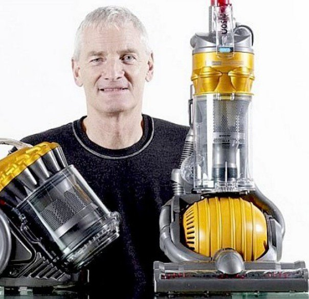 James Dyson, inventor of the Dyson Ball.