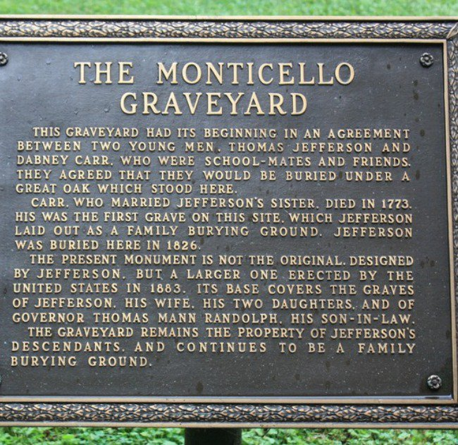 Monticello Plaque