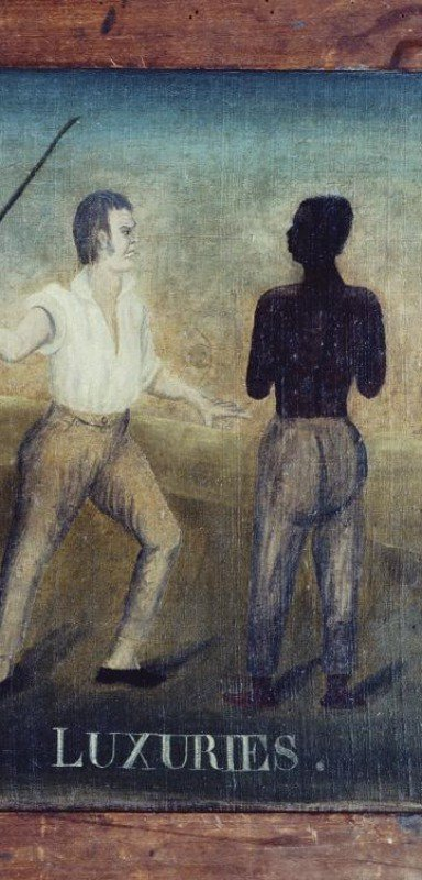 Depiction of slave ownership