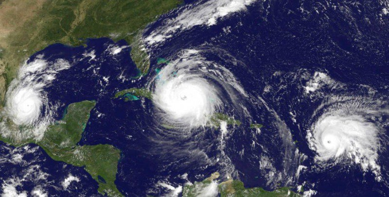 More frequent hurricanes? Check.