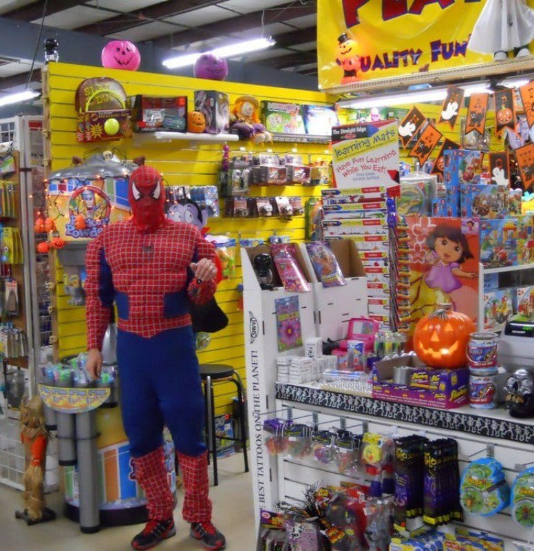 Spiderman is the vendor here!