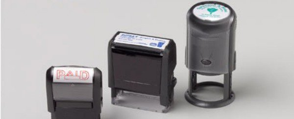 Examples Of Custom Self Inking Stamps