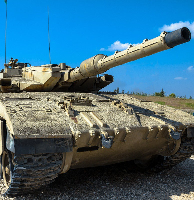The Israeli Merkava main battle tank
