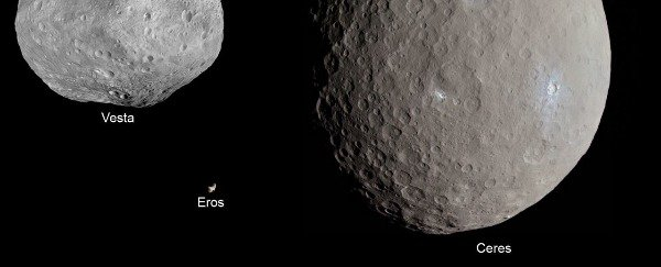 The asteroid belt exists between Mars and Jupiter