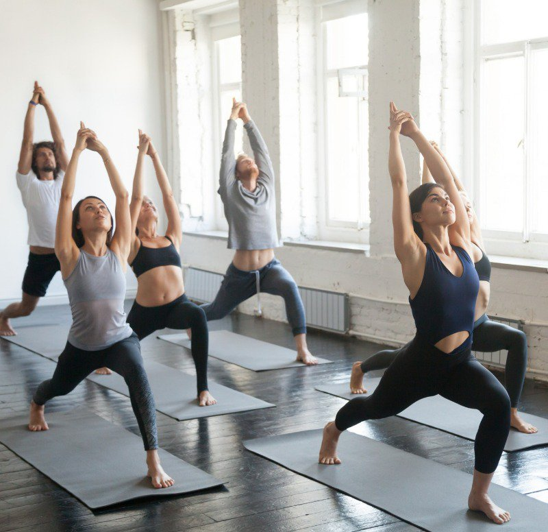 As you can see, the yoga tops allow those practicing yoga to stretch fully