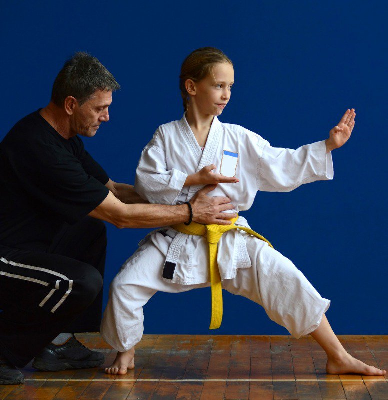 Teaching children mixed martial arts at a young age can boost confidence