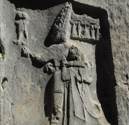 A Hittite carving