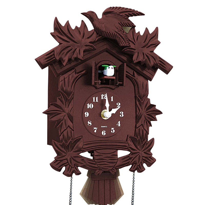 They had cuckoo clocks they could have displayed instead.