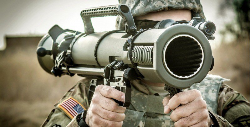 Only men in the military should be using bazookas in a responsible manner